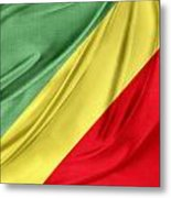 Congo Flag Metal Print