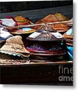 Conical Hats 01 Metal Print
