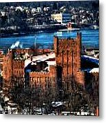 Connecticut Street Armory Winter 2013 Metal Print