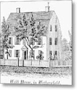 Connecticut Webb House Metal Print