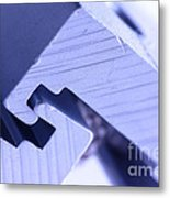 Connecting Tools Metal Print