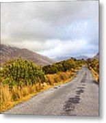 Connemara Roads - Irish Landscape Metal Print by Mark Tisdale