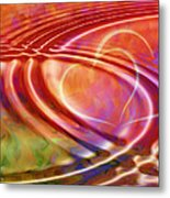 Connexion Metal Print by Ann Croon