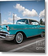 conrictrice 56 Chevy Metal Print