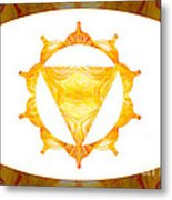 Conscious Spirituality Abstract Chakra Art By Omaste Witkowski Metal Print