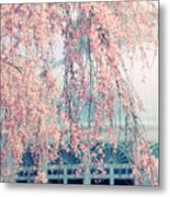 Conservatory  In Spring Metal Print