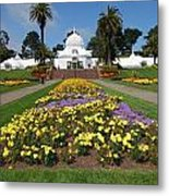 Conservatory Of Flowers Metal Print