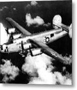 Consolidated B-24 Liberator Heavy Bomber Metal Print