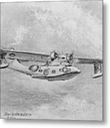 Consolidated Catalina Pby Metal Print