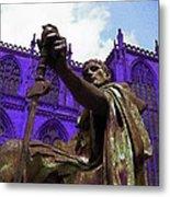 Constantine The Emperor At Yorkminster Metal Print