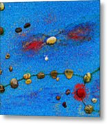 Constellation Of Pisces Metal Print