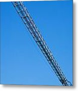 Construction Crane 01 Metal Print by Antony McAulay