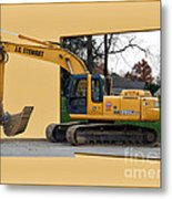 Construction Equipment 01 Metal Print