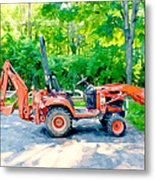 Construction Machinery Equipment 1 Metal Print