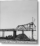 Construction Of The Eastern Span San Francisco Oakland Bay Bridge June 29 1930 Metal Print