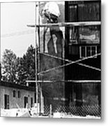 Construction Workers Metal Print