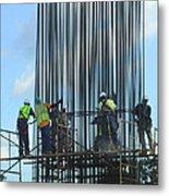 Construction4 Metal Print