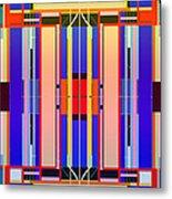 Constructive Color Metal Print
