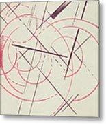 Constructivist Composition, 1922 Metal Print