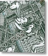 A Constructor Of Time Metal Print