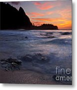Consumed Metal Print by Mike  Dawson