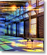 Containment Facility Metal Print