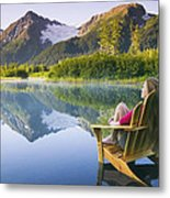 Contemplate Metal Print
