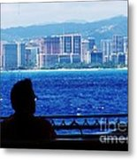 Contemplation Of Paradise Metal Print