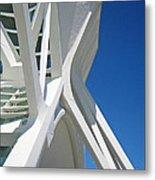 Contemporary Architecture In Valencia Metal Print