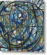 Contemporary Art Seventeen Metal Print