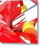 Contemporary Vector Art 1 Metal Print