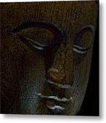 Contented Buddha Metal Print