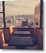 Continental Breakfast Metal Print by Laurie Search