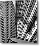 Continental Center I Houston Tx Metal Print by Christine Till