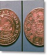 Continental Dollar, 1776 Metal Print