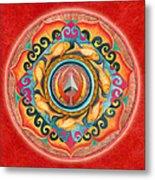 Continuing Mandala Metal Print