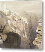 Convent Of St. Saba, April 4th 1839 Metal Print