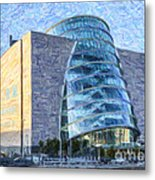 Convention Centre Dublin Republic Of Ireland Metal Print