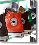 Converse Star Sneakers Metal Print