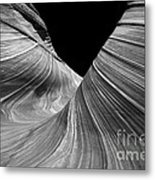 Convolution Metal Print