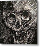 Convulsed Memento Mori  Metal Print
