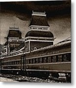 Conway Rail Station Metal Print