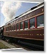 Conway Scenic Railway Metal Print