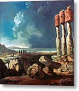 Cook: Easter Island, 1774 Metal Print