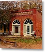 Cook Station Bank Metal Print by Marty Koch