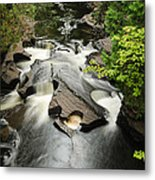 Cookie Cutter Falls Metal Print by Thomas Pettengill