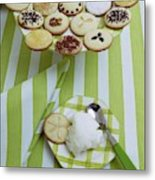 Cookies And Icing Metal Print