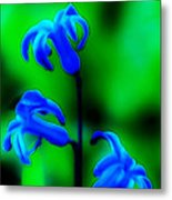 Cool Blue Metal Print