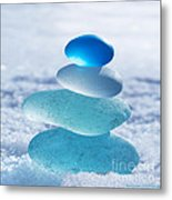 Cool Blues Metal Print