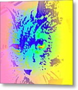The Coolest Cat You Have Ever Seen  Metal Print